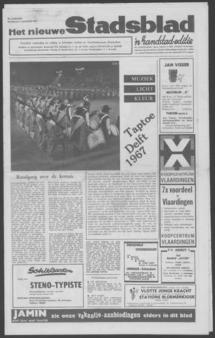 Het Nieuwe Stadsblad 1967-08-09