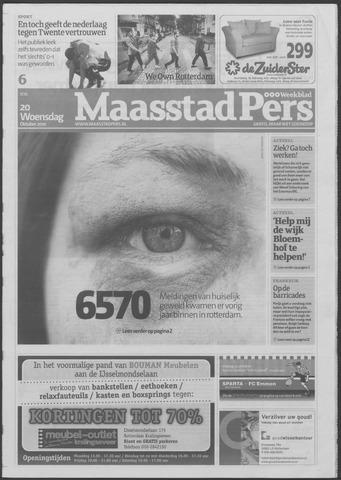 Maaspost / Maasstad / Maasstad Pers 2010-10-20