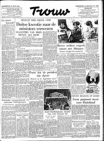 Trouw / De Rotterdammer 1955-07-21