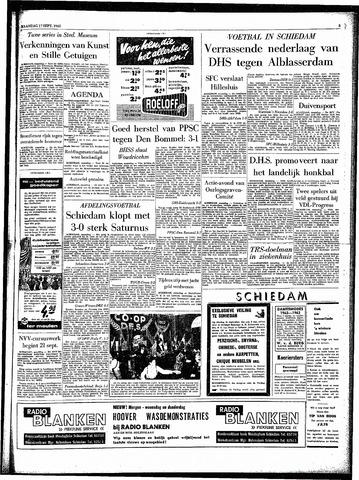 Rotterdamsch Parool / De Schiedammer 1962-09-17