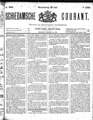 Schiedamsche Courant 1883-07-25