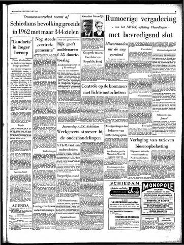 Rotterdamsch Parool / De Schiedammer 1963-02-20