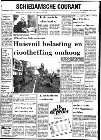Rotterdamsch Nieuwsblad / Schiedamsche Courant / Rotterdams Dagblad / Waterweg / Algemeen Dagblad 1980-04-09
