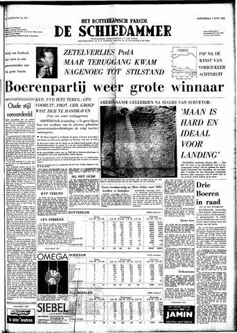 Rotterdamsch Parool / De Schiedammer 1966-06-02