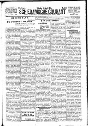Schiedamsche Courant 1931-06-13