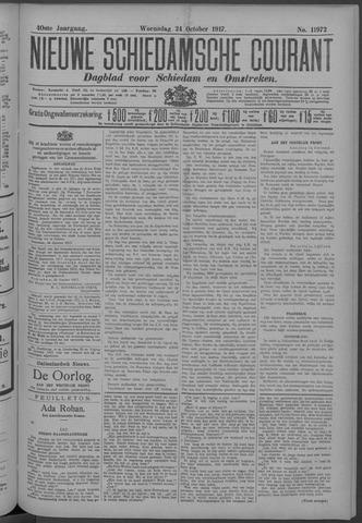 Nieuwe Schiedamsche Courant 1917-10-24