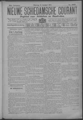 Nieuwe Schiedamsche Courant 1918-01-15