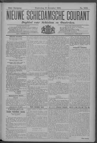 Nieuwe Schiedamsche Courant 1909-12-16