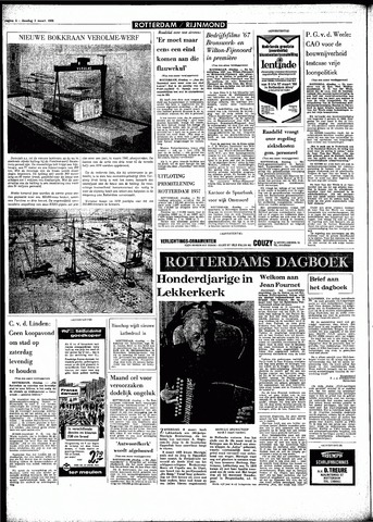 Rotterdamsch Parool / De Schiedammer 1968-03-05
