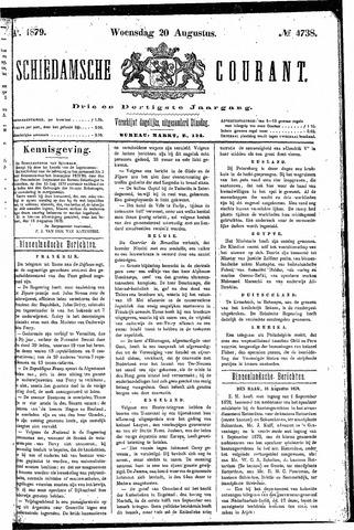 Schiedamsche Courant 1879-08-20