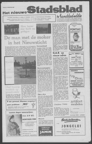Het Nieuwe Stadsblad 1967-08-18