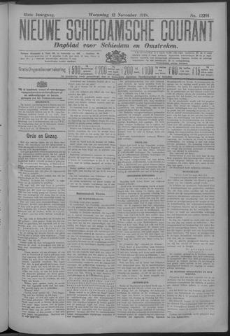 Nieuwe Schiedamsche Courant 1918-11-13