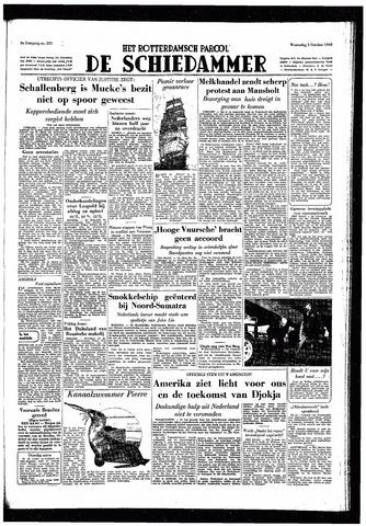 Rotterdamsch Parool / De Schiedammer 1949-10-05