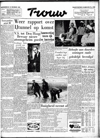 Trouw / De Rotterdammer 1960-10-13