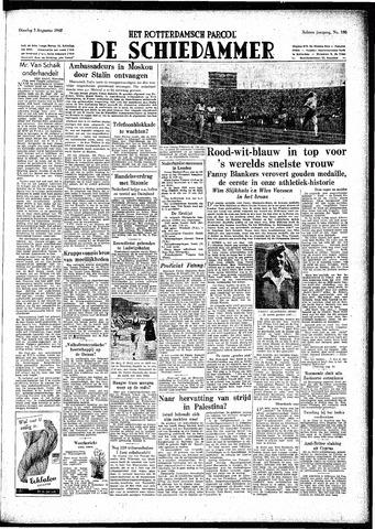 Rotterdamsch Parool / De Schiedammer 1948-08-03