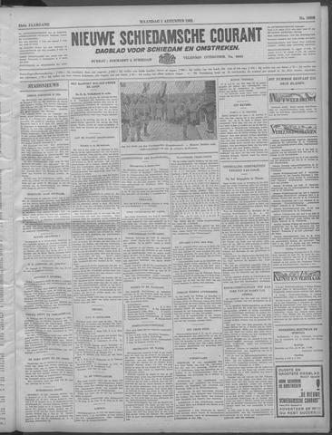 Nieuwe Schiedamsche Courant 1932-08-01