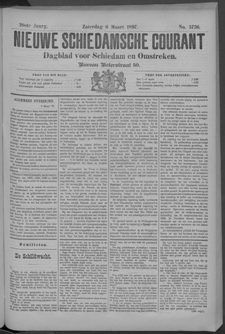 Nieuwe Schiedamsche Courant 1897-03-06
