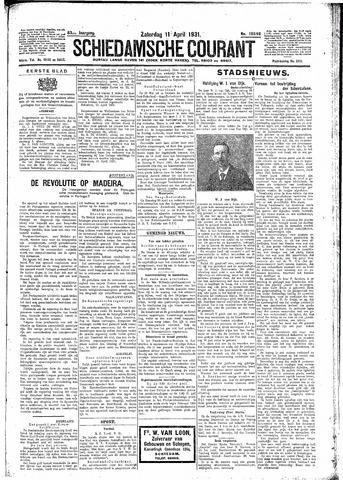 Schiedamsche Courant 1931-04-11
