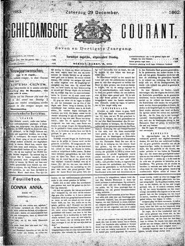 Schiedamsche Courant 1883-12-29