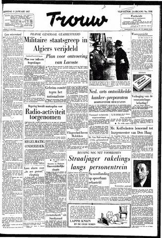 Trouw / De Rotterdammer 1957-01-08