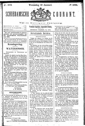 Schiedamsche Courant 1881-01-12