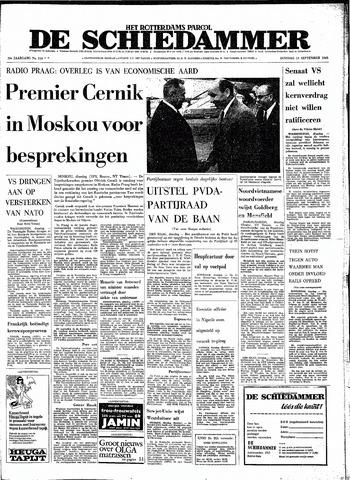 Rotterdamsch Parool / De Schiedammer 1968-09-10