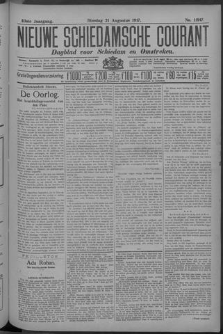 Nieuwe Schiedamsche Courant 1917-08-21