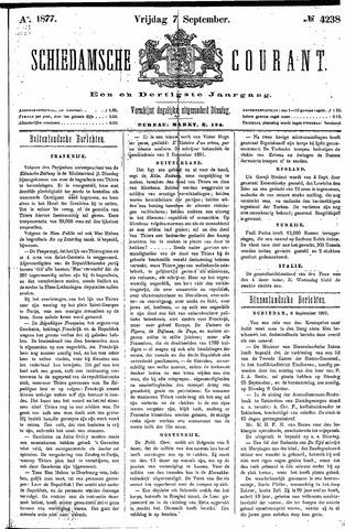 Schiedamsche Courant 1877-09-07