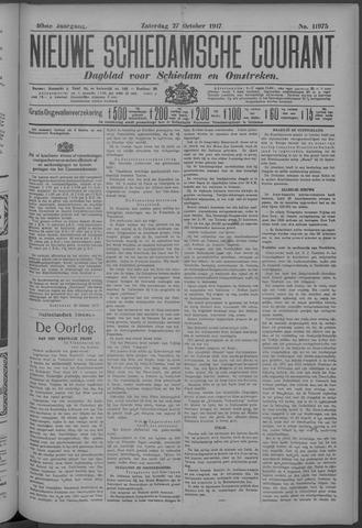 Nieuwe Schiedamsche Courant 1917-10-27
