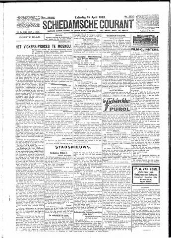 Schiedamsche Courant 1933-04-15