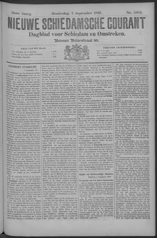 Nieuwe Schiedamsche Courant 1897-09-02