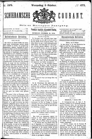 Schiedamsche Courant 1879-10-08