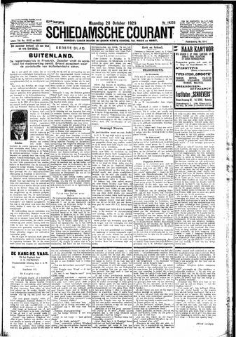 Schiedamsche Courant 1929-10-28