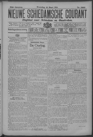 Nieuwe Schiedamsche Courant 1918-03-20