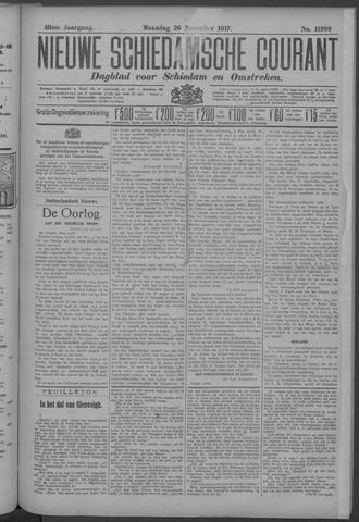 Nieuwe Schiedamsche Courant 1917-11-26