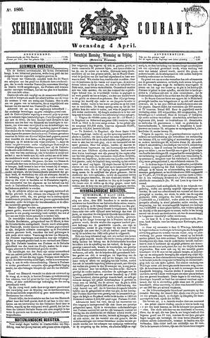 Schiedamsche Courant 1866-04-04