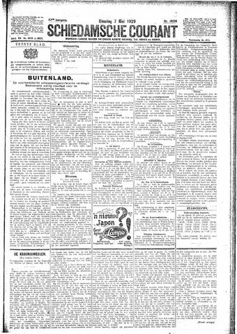 Schiedamsche Courant 1929-05-07