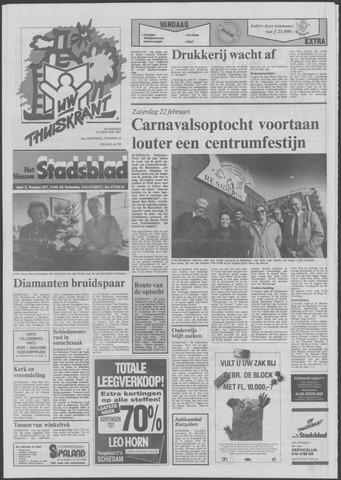 Het Nieuwe Stadsblad 1992-02-19