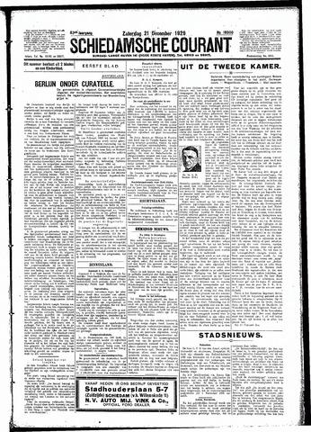 Schiedamsche Courant 1929-12-21