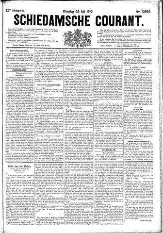 Schiedamsche Courant 1910-07-26