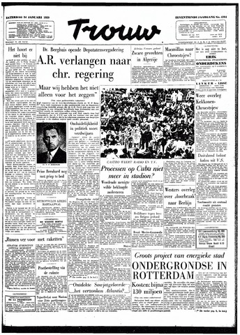 Trouw / De Rotterdammer 1959-01-24