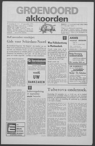 Groenoord Akkoorden 1972-09-27