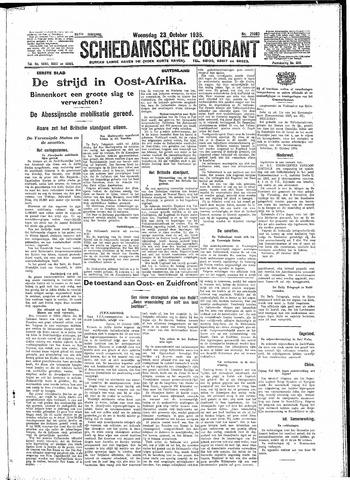 Schiedamsche Courant 1935-10-23