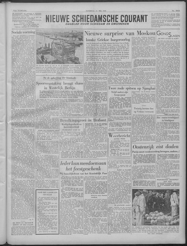 Nieuwe Schiedamsche Courant 1949-05-21
