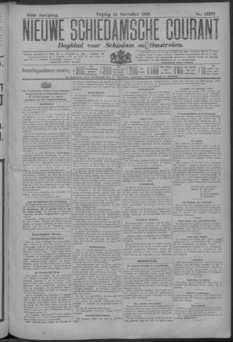 Nieuwe Schiedamsche Courant 1918-11-15