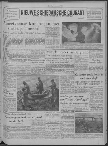 Nieuwe Schiedamsche Courant 1958-02-01