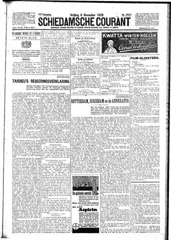 Schiedamsche Courant 1929-11-08