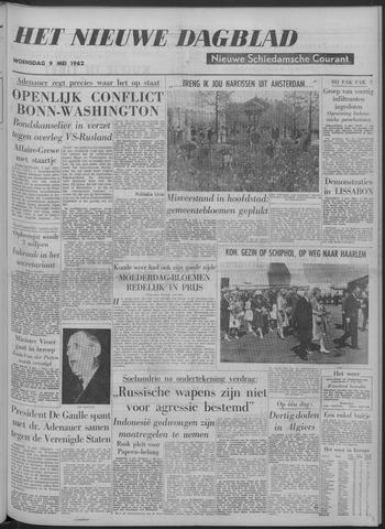 Nieuwe Schiedamsche Courant 1962-05-09
