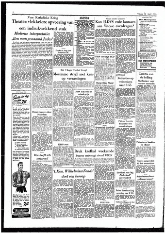 Rotterdamsch Parool / De Schiedammer 1955-04-22