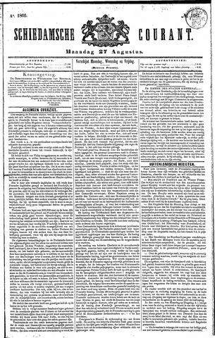 Schiedamsche Courant 1866-08-27